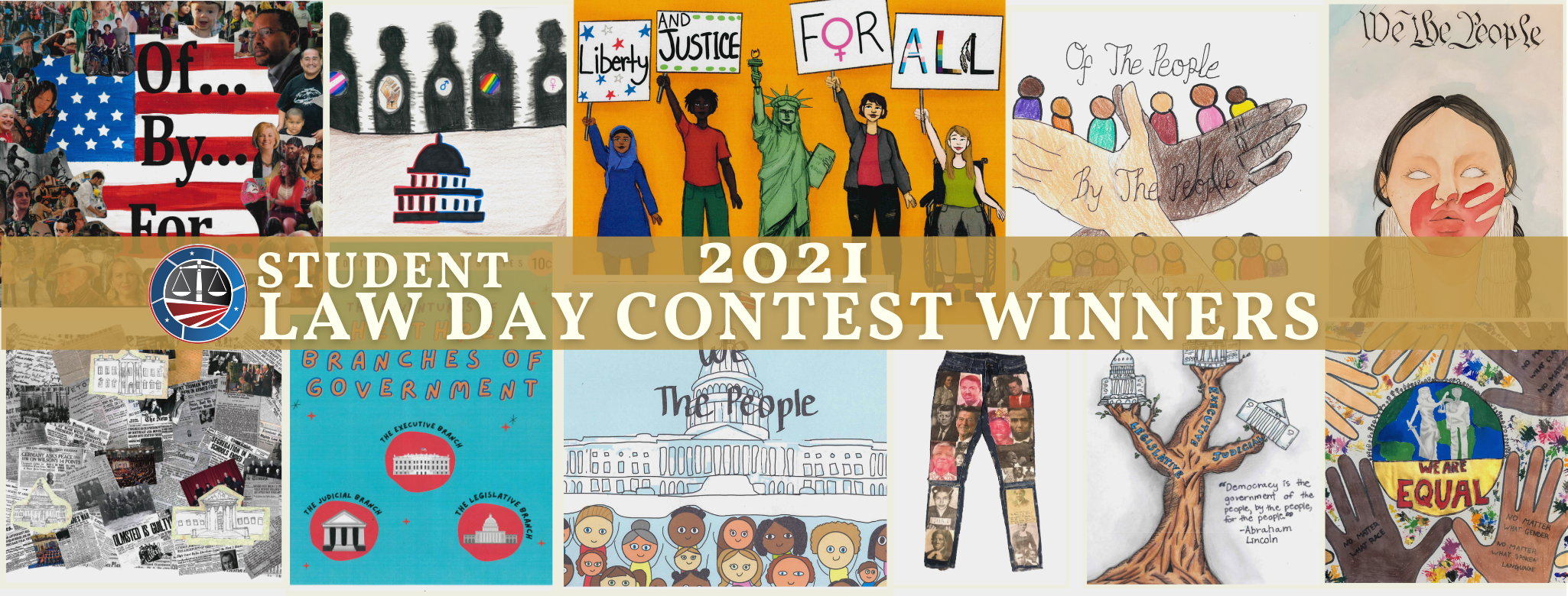 FRONT PAGE BANNER –2021 Student Law Day Contest
